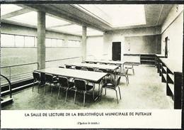 ► 1936 - PUTEAUX  - Nouvelle Salle Bibliothèque Municipale   -  Coupure De Presse (Encadré Photo) - Historical Documents