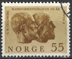 Norwegen Norway 1964. Mi.Nr. 515, Used O - Gebraucht