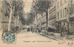 France - 83 - Draguignan - Boulevard De La Liberté - Draguignan
