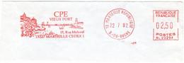 CPE Vieux Port - Marseille - France 1992 - EMA Meter Freistempel - EMA (Printer Machine)