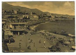 8418 - GENOVA   S GIULIANO BAGNI ANIMATA 1963 - Genova