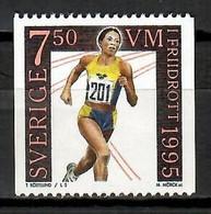 Sweden 1995 Suecia / Athletics MNH Atletismo Leichtathletik / Kb34  2-2 - Atletiek