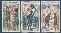"""FR YT 1729 à 1731 """" Histoire De France """" 1972 Neuf** - Unused Stamps"""