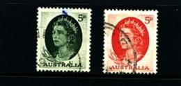 AUSTRALIA - 1963  QUEEN ELISABETH  SET  FINE USED - Gebruikt