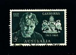 AUSTRALIA - 1963  ANNIVERSARY OF CANBERRA  FINE USED - Gebruikt