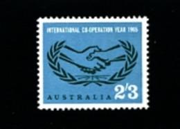AUSTRALIA - 1965  INTERNATIONAL CO-OPERATION YEAR  MINT NH - Ongebruikt