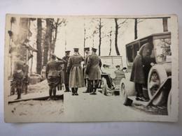 Argonne Cérémonie Officiers Américains - Soldats US Army WW1 Autos - Carte Photo - War 1914-18