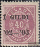 Iceland 32A Unmounted Mint / Never Hinged 1902 Print Edition - Prephilately