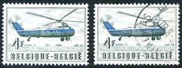 Belgique Belgie Belgium Belgien 1957 Hélicoptère Sikorsky S-58 En Service SABENA Helicopter Elicottero - Aerei