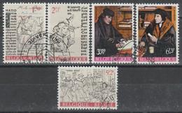 1427/1431 Erasme Et Son Temps /Erasmus Oblit/gestp - Oblitérés