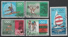 1456/1460 Mexico 1968 Oblit/gestp - Oblitérés