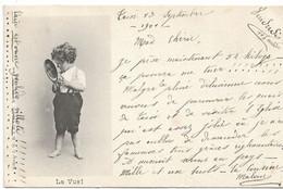 """L130b594 - Bébé Découvrant Les 5 Sens """"La Vue"""" - Editeur J.W Caprice N°64 - Carte Précurseur - Altri"""