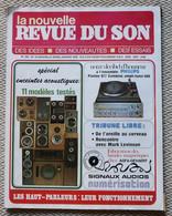 La Nouvelle Revue Du Son  N° 24 01/1979  Spécial Acoustique - Wetenschap
