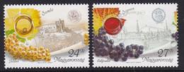 PAIRE NEUVE DE HONGRIE - REGIONS VITICOLES N° Y&T 3679/3680 - Wines & Alcohols