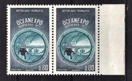 FRANCE 1971 - PAIRE Y.T. N° 1666 - NEUFS** - Unused Stamps