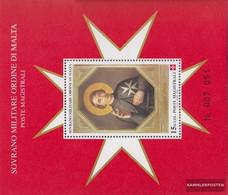 Order Of Malta (SMOM) Catalog-number.: Block52 (complete Issue) Unmounted Mint / Never Hinged 1999 Holy Hugo - Malta (Orde Van)