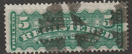 Canada 1875 Sc F2  Used Cork Cancel - Recomendados