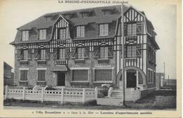14 LA BRECHE D' HERMANVILLE  Villa Beauséjour  Face à La Mer  CPA Non écrite - Sonstige Gemeinden