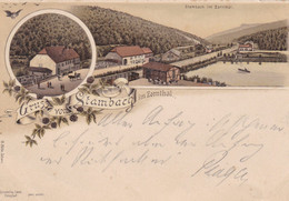 STAMBACH IM ZORNTHAL - BAS-RHIN - (67) - LITHOGRAPHIE - ANNEE 1897. - Autres Communes