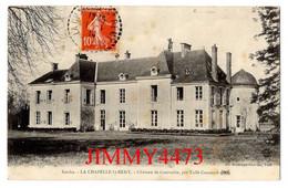 CPA - LA CHAPELLE-St-REMY 72 Sarthe En 1914 - Château De Courvalin Par Tuffé-Connéré - Edit. Bontemps - Otros Municipios