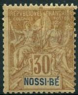 Nossi-bé (1894) N 35 * (charniere) - Unused Stamps