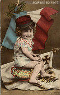 POUR LES BOCHES SIGNEE MORINET - Patriottiche