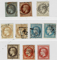 C12- Série Lauré Sans Défaut - 1863-1870 Napoléon III Con Laureles
