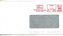 Lettre Flamme Ema Sierentz Hopital - EMA (Printer Machine)