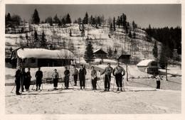 Les Rousses 39 La Faucille 01 * La Route Blanche Paris Genève * Les Châlets Du Tabagno * Sports D'hiver Ski Skieurs - Sonstige Gemeinden