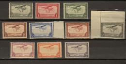 Congo Belge Ocb Nr :  PA7 - PA15 + PA7a ** MNH  (zie Scan) - Poste Aérienne: Neufs