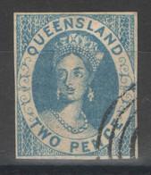 FAUX - FORGED - Queensland - YT 2 Oblitéré - 1860 - Gebruikt
