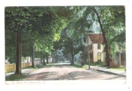 PLANTSVILLE - So. Main Str. - 1912 - - Otros