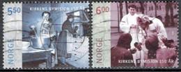 NORWAY #  FROM 2005 STAMPWORLD 1528-29 - Gebraucht