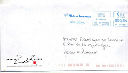 Lettre Flamme Ema Luzenac Talc - EMA (Printer Machine)