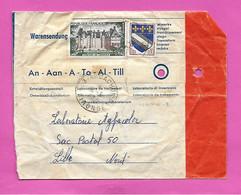 Enveloppe Spéciale Laboratoire De Traitement Photo - Oblitération ARCACHON B Gironde + Ema Au Retour 1968 - EMA (Printer Machine)