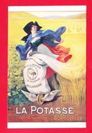 Pub-313Ph119  La Potasse D'Alsace, Mulhouse, La Potasse Est La Fortune De L'agriculteur, BE - Publicité