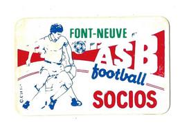 FONT NEUVE BEZIERS - ASB CARTE DE FOOT FOOTBALL DE CROS JEAN - Altri
