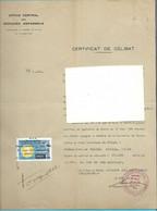 Timbre Fiscal  Fiscaux  Réfugié Espagnol - Unclassified