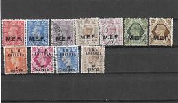 Brit./Kolonien - Eritrea - Selt./gest. FM-Lot Aus 1945/50! - Sonstige