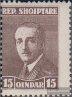Albania 137A With Hinge 1925 Clear Brands - Achmed Zogu - Albanien