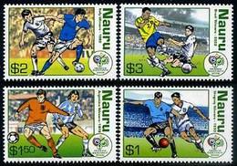 Soccer Football Nauru #634/7 2006 World Cup Germany MNH ** - 2006 – Duitsland