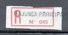 Erinophilie, Vignette De Recommandation, Majunga Principal ( Madagascar) - Autres