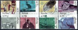 NORWAY #  FROM 1997 STAMPWORLD 1266-73 - Gebraucht