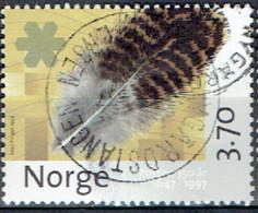 NORWAY #  FROM 1997 STAMPWORLD 1268 - Gebraucht