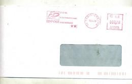 Lettre Flamme Ema Paris CPCE-D Edipost - EMA (Printer Machine)