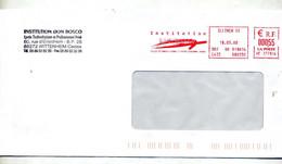 Lettre Flamme Ema  Illzach Institution Don Bosco - EMA (Printer Machine)