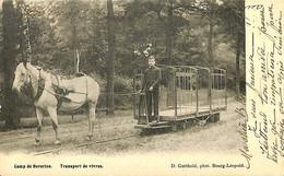 033 726 - CPA - Belgique - Camp De Beverloo - Transport De Vivres - Leopoldsburg (Kamp Van Beverloo)