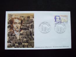 FRANCE 1999_Enveloppe 1er Jour_Numismastique Française_René Caillié 1799-1838 Oblit.PJ79 Mauzé-sur-le-Mignon 26/06/1999. - 1990-1999