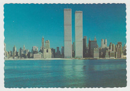 New York City - World Trade Center - Twin Towers - By Manhattan Post Card Inc. No DR-48842-D - 4 X 6 - Unused - 2 Scans - World Trade Center