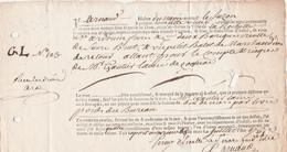 1765 LA ROCHELLE-PORT-AU-PRINCE (Guadeloupe) Connaissement De Barriques Créoles De Sucre Brut De ARDOUIN Frères - Documentos Históricos